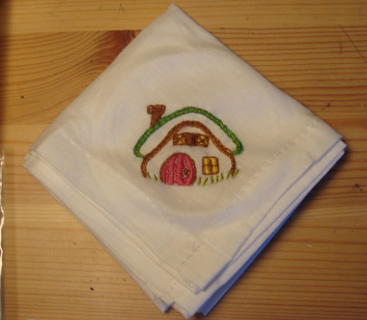 Magic Cottage Hanky